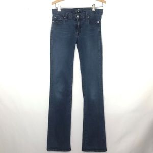 7 For All Mankind The Skinny Bootcut Jean Size 30